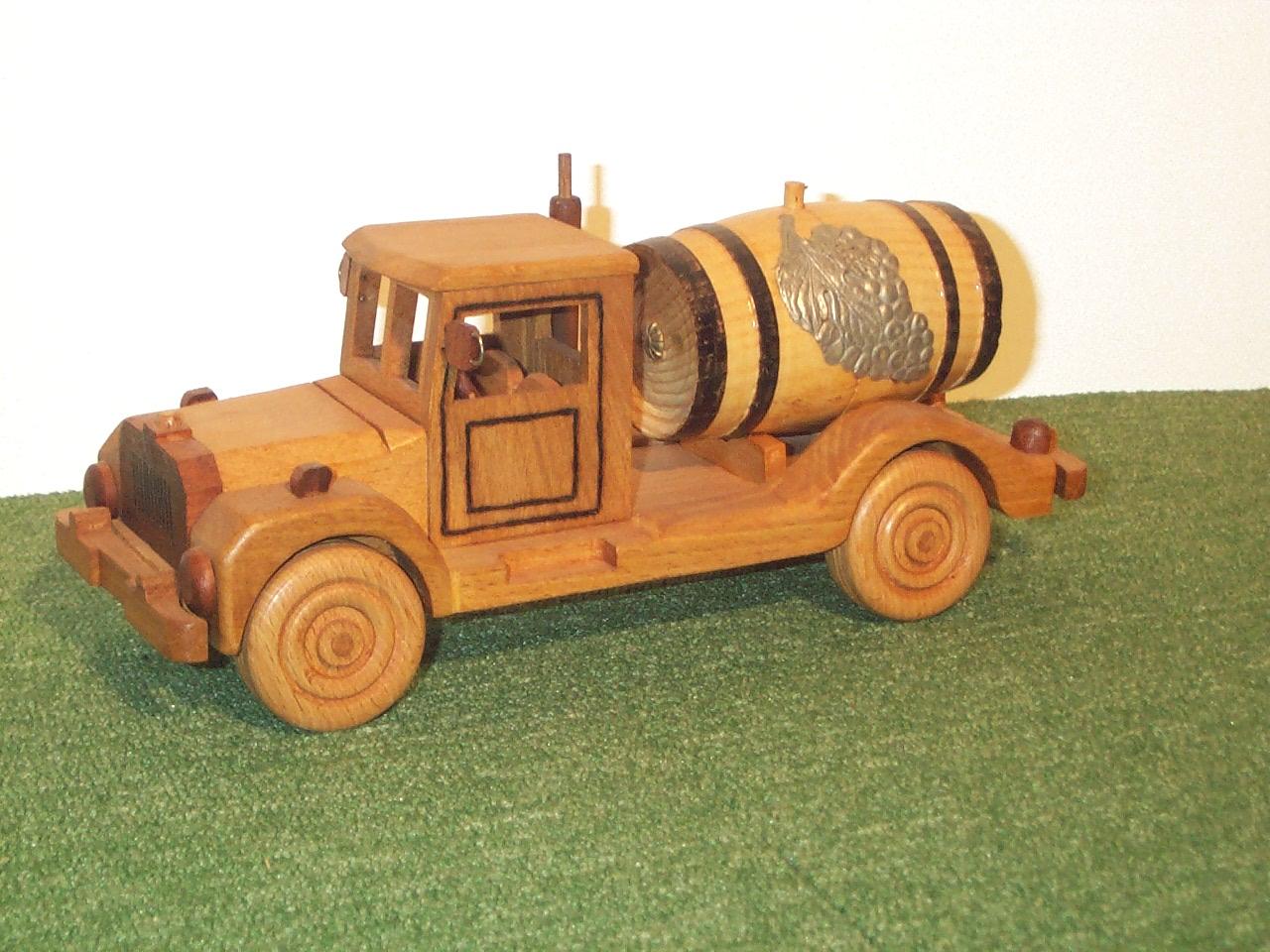 Vieux camion à vin